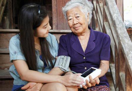 การจัดการสุขภาวะผู้สูงอายุ