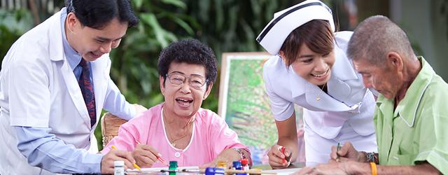 การดูแลผู้สูงอายุระยะยาวที่1
